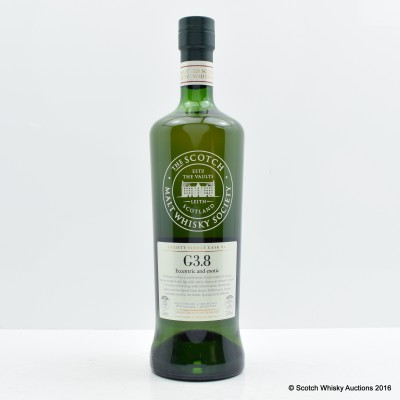 SMWS G3.8 Caledonian 1979 35 Year Old