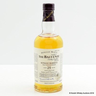 Balvenie 1974 25 Year Old Single Barrel 20cl