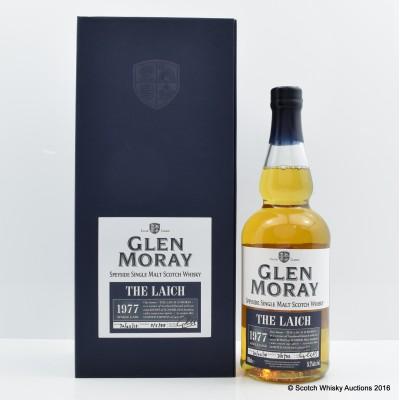 Glen Moray 1977 Single Cask The Laich