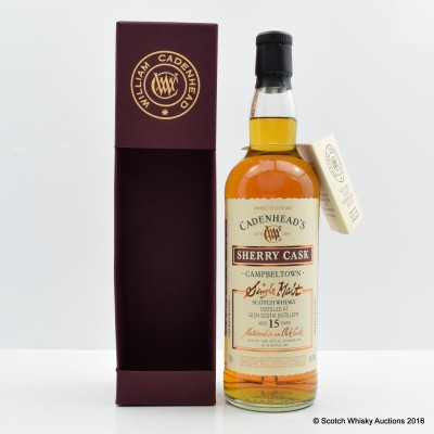 Glen Scotia 1999 15 Year Old Cadenhead's