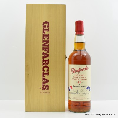 Glenfarclas 43 Year Old Cognac Casks