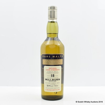 Rare Malts Millburn 1975 18 Year Old