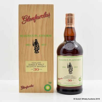 Glenfarclas 30 Year Old Private Bottling for BP Magnus Platform