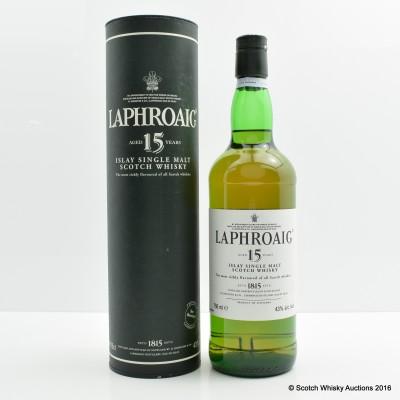 Laphroaig 15 Year Old 75cl