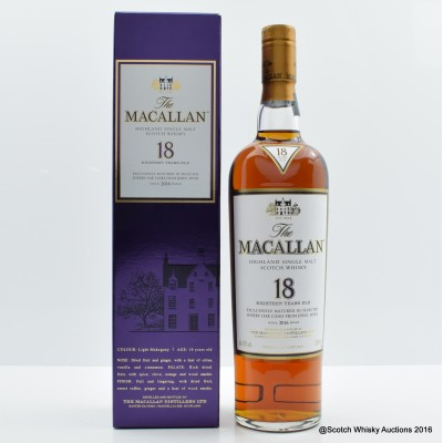 Macallan 18 Year Old 2016 Release