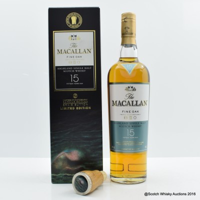 Macallan 15 Year Old Fine Oak Masters of Photography Ernie Button