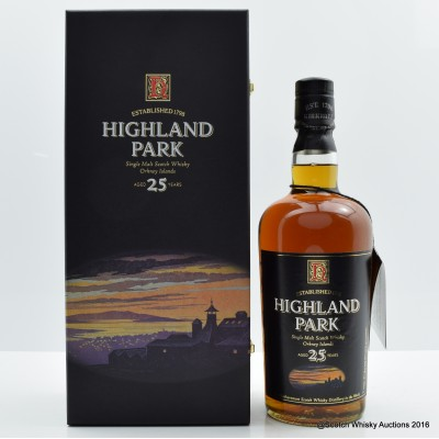 Highland Park 25 Year Old Old Style