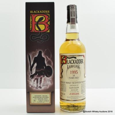 Glen Elgin 1995 18 Year Old Blackadder Raw Cask