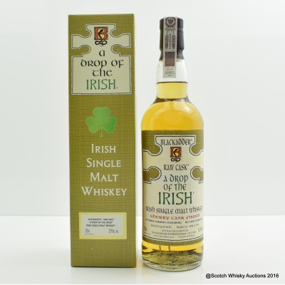 Irish Single Malt Blackadder Raw Cask