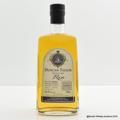West Indies 2000 15 Year Old Rum Duncan Taylor