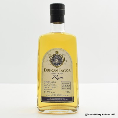Long Pond 2000 15 Year Old Rum Duncan Taylor