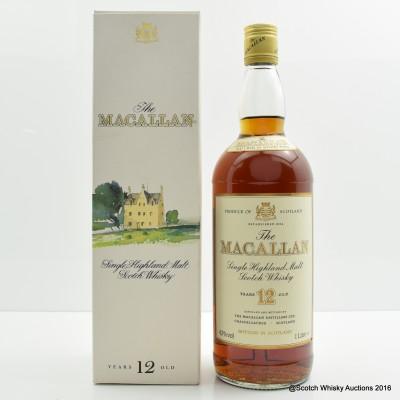 Macallan 12 Year Old 1L