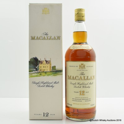 Macallan 12 Year Old 1L