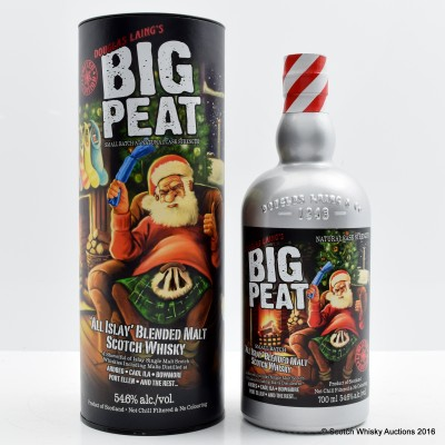 Big Peat 2016 Christmas Limited Edition 1 of 1 Charity Lot Signed by Fred Laing
