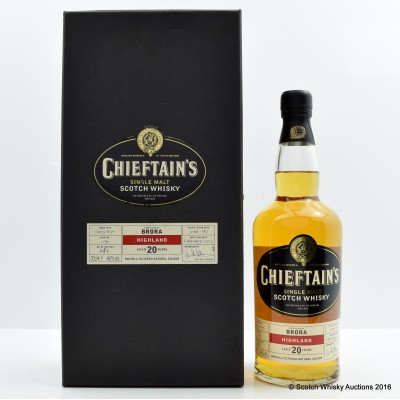 Brora 1982 20 Year Old Chieftain's
