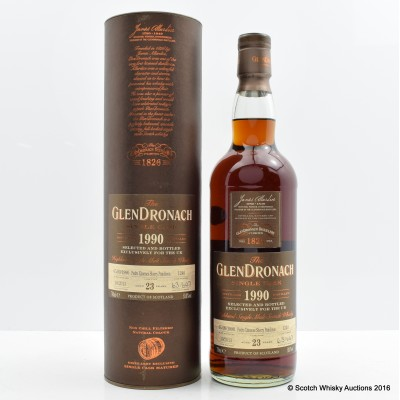 GlenDronach 1990 23 Year Old Single Cask #1240