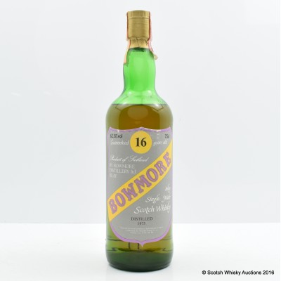 Bowmore 1973 16 Year Old Sestante 75cl