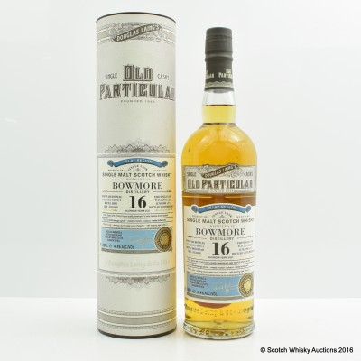 Bowmore 1998 16 Year Old Old Particular