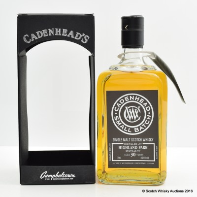 Highland Park 1986 30 Year Old Cadenhead's