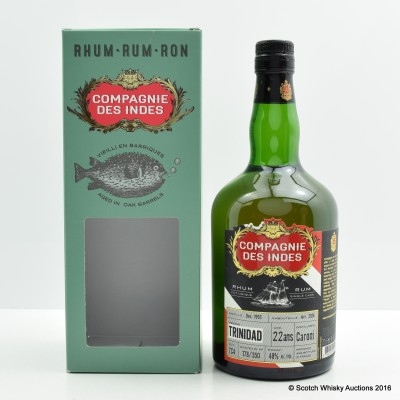 Caroni 1993 22 Year Old Compagnie Des Indes