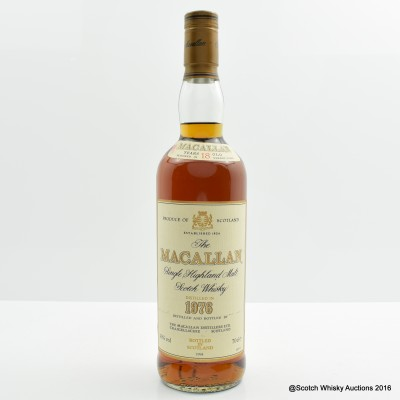 MACALLAN 18 YEAR OLD 1976