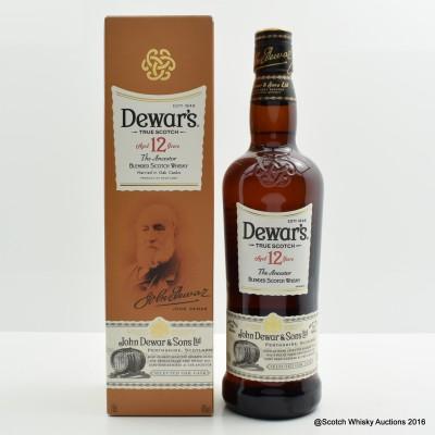 Dewar's 12 Year Old The Ancestor 75cl