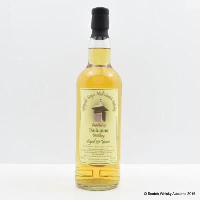 Dailuaine 1992 20 Year Old Whisky Broker