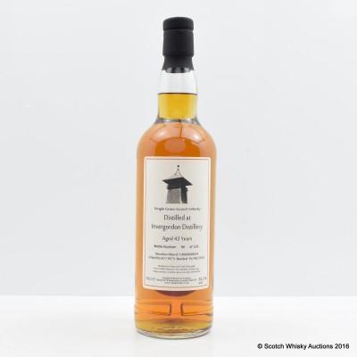 Invergordon 1973 43 Year Old Whisky Broker