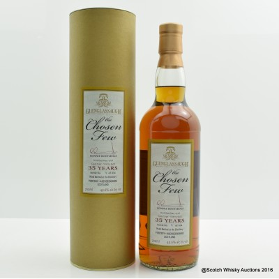 Glenglassaugh 1976 35 Year Old The Chosen Few Ronnie Routledge