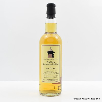 Caledonian 1987 28 Year Old Whisky Broker