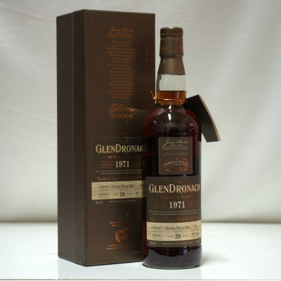 GlenDronach 1971 39 Year Old Single Cask #489