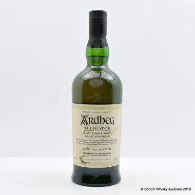 Ardbeg Alligator Exclusive Committee Reserve