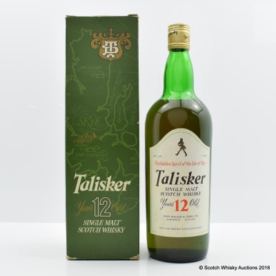 Talisker 12 Year Old Old Style 1L