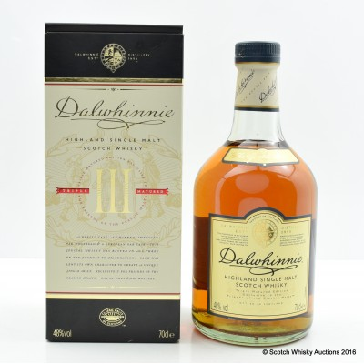 Dalwhinnie Triple Matured Friends of the Classic Malts 2013 Release
