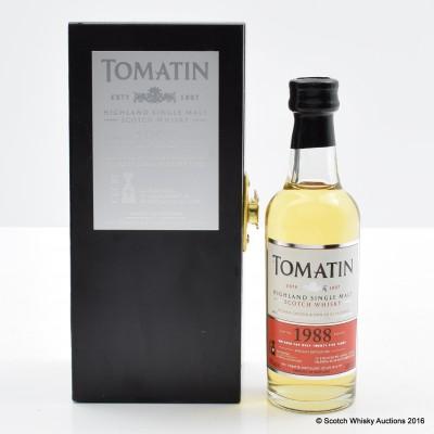 Tomatin 1988 IV Encuentro Mini 5cl