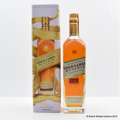 Johnnie Walker Gold Label Reserve Limited Edition Design