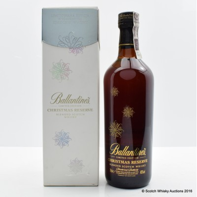 Ballantine's Limited Edition Christmas Reserve