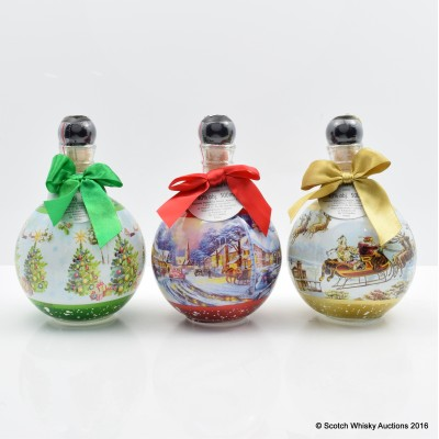 Chopin Vodka Limited Edition Christmas Bottles 3 x 50cl