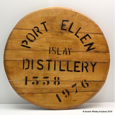 Port Ellen Distillery 1976 Cask 1338 Cask End