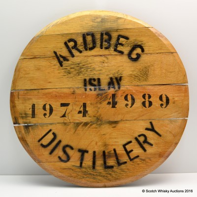 Ardbeg Distillery 1974 Cask 4989 Cask End