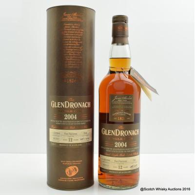 GlenDronach 2004 12 Year Old Single Cask #3340 For Vinothek Massen