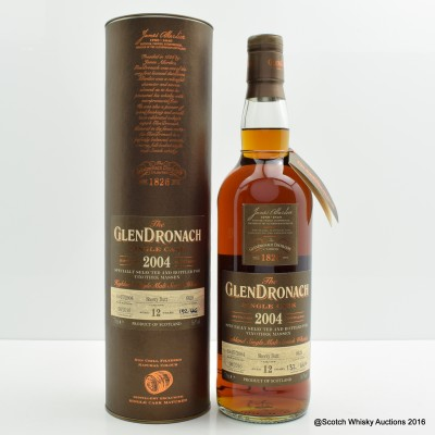 GlenDronach 2004 12 Year Old Single Cask #6629 For Vinothek Massen
