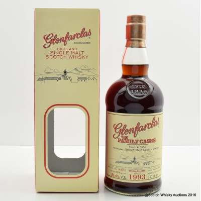 Glenfarclas Family Cask 1993 for Luxembourg Whisky Society