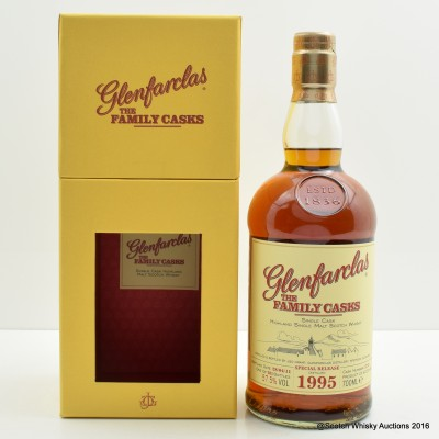 Glenfarclas Family Cask 1995 for Usquebaugh Society