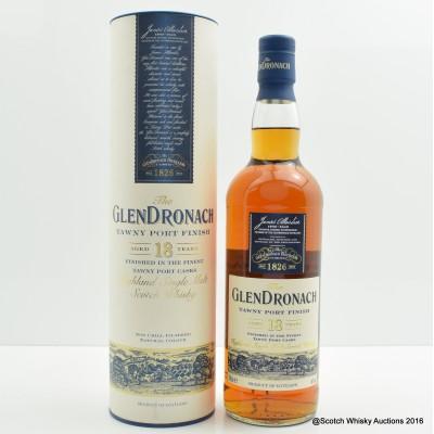 Glendronach 18 Year Old Tawny Port Finish