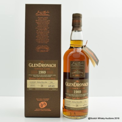 GlenDronach 1989 26 Year Old Single Cask #2662