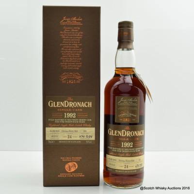 GlenDronach 1992 24 Year Old Single Cask #226