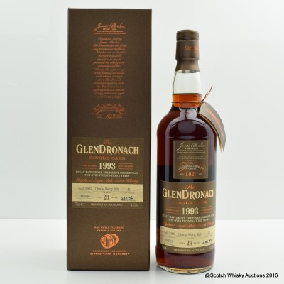 GlenDronach 1993 23 Year Old Single Cask #42