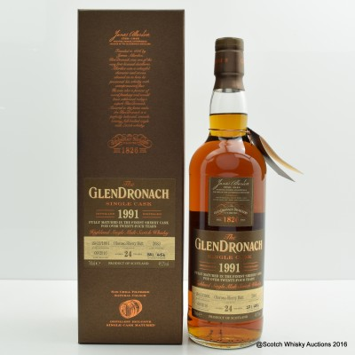 GlenDronach 1991 24 Year Old Single Cask #2683