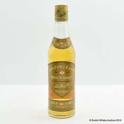 John Power & Son Gold Label 35cl